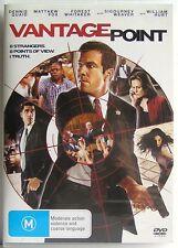 VANTAGE POINT (2008) DVD MOVIE Dennis Quaid, Forest Whitaker, Matthew Fox