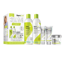 DevaCurl Miracle Workers Kit For Curly Hair. Brand NEW.