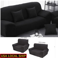 1 2 3 Seater Protector Couch Cover Slipcover Stretch Chair Sofa Covers US Ship
