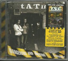 T.A.T.U. Dangerous w/ BONUS TRK &REMIX & POSTER CD & DVD VIDEO DOCUMENTARY tatu
