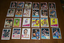 24 NEW YORK KNICKS 1970's BASKETBALL CARDS