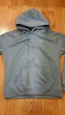 Under Armour Womens Pull Over Hoodie Size Small Light Blue REALLY NICE