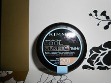 RIMMEL COOL MATTE MOUSSE FOUNDATION SHADE 201 CLASSIC BEIGE DISCONTINUED ITEM