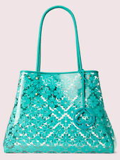 KATE SPADE Everything See-Through Large Tote $298 Fiji Green