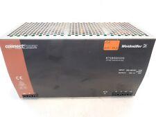 Weidmüller CP SNT 500W 24V 20A 8708690000 Input 220-240V AC 4A Output 24V DC 20A