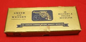 Smith & Wesson 38 Military & Police Gold Box