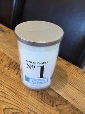 Yankee Candle Wax LARGE No 1 Jar COCONUT & SEA BREEZE Retired 20oz USA EXCLUSIVE