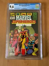 Marvel Super-Heroes v2 #9 CGC 9.6 WANDA VISSION!1992 Iron man, Thor & AWC