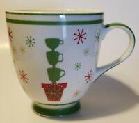 Starbucks Christmas Holiday 2006 Cup Topiary Coffee Mug 16 oz Dazzle & Delight