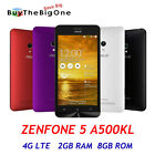 """Asus Zenfone 5 A500KL 4G LTE 5"""" HD Cellulare Smartphone Android 4.4 2GB/8GB"""
