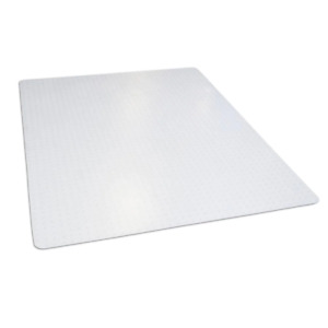 46 in. x 60 in. Clear Rectangle Office Chair Mat for Low and Medium Pile Carpet