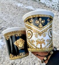 More details for versace i love baroque medusa mugs 6 pieces set last few sets left