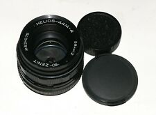 EXC! Helios 44M-4 2/58 lens Carl Zeiss Biotar sucessor M42 screw for SONY CANON