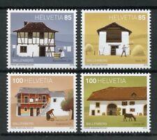 Suisse 2018 neuf sans charnière Ballenberg 50 ans 4 V Set musées CHEVAUX ARCHITECTURE timbres