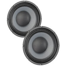 Pair Eminence Delta-10B 10 inch Midrange Driver 16 ohm 700 W Replacement Speaker