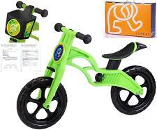 POPBIKE Children Kids Learning Balance Bike 12 EN71 & CE Certified Safety GREEN