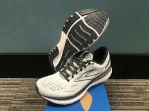 Women's Size 7 Brooks Glycerin GTS 19 Running Shoes New In Box Grey/Ombre/White