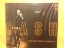 JOHNNY. CASH.           ROCK. AND ROLL.  ROOTS.       TWO DISCS