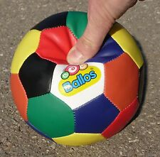"BALLOS FARBIG Knautschball Kinderball ø16cm ""KUNST-LEDER""                 50-27"