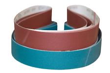 """2""""x72"""" Sanding Belts Zirc/AO Variety Pack Knife Makers Starter Kit (9pcs)"""