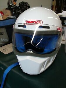 Simpson Motorcycle Helmet - L - Label: JNELL serial nr M2176083, some scratches