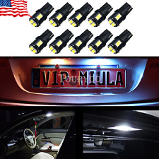 OXILAM 10x White T10 Wedge Car High Power 6SMD LED Light Bulb 194 168 W5W 2825