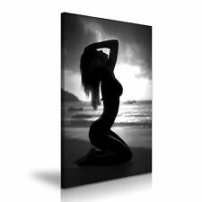 Nude Erotic Sexy Woman Body Canvas Wall Art Picture Print 50cmx76cm