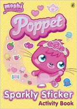 Moshi Monsters: Poppet Sparkly Sticker Activity Book, New, Puffin Books Book