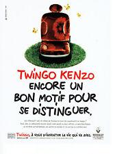 Publicité Advertising 098 1995  la Renault Twingo Kenzo*