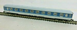 Märklin 8743 Z Gauge Mini Club Interregiowagen 1 2. Class DB Blue White