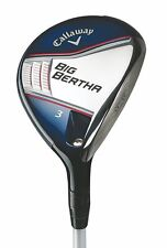 New LH Callaway Big Bertha 3 Fairway Wood Fubuki 65x5ct Regular flex Graphite