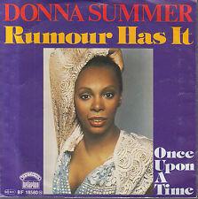 "7"" DONNA SUMMER: Rumour Has It"