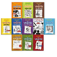 Diary of a Wimpy Kid Collection 11 Books Set Pack (1-11) By Jeff Kinney
