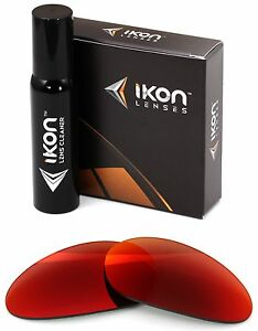 Polarized IKON Iridium Replacement Lenses For Oakley Minute 1.0 + Red Mirror