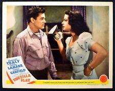 TORTILLA FLAT 1942 John Garfield, Hedy Lamarr LOBBY CARD