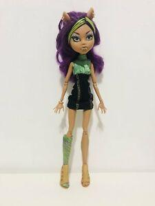 Monster High Clawdeen Wolf Doll Mattel VGC