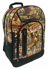 Marvel Retro Print Comic Cover Backpack Rucksack School Bag