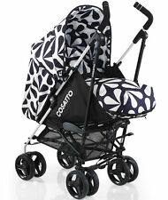 New Cosatto To and fro reversible pushchair Charleston with footmuff & raincover