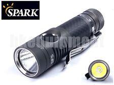 Spark SF5 HCRI Luxeon T CRI90 Carbon AA 14500 Neutral White LED Flashlight
