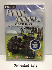 FARMING SIMULATOR 2011 OFFICIAL ADD-ON ESPANSIONE (PC) NUOVO SIGILLATO