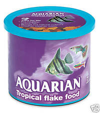 Aquarian 200g Tropical Fish Flake Aquarium Tank Freshwater Tetra guppys