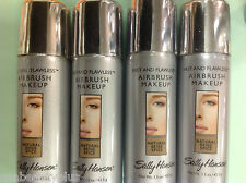 4 X Sally Hansen Fast and Flawless Airbrush Foundation Natural Beige Spice NEW.