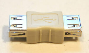 USB Cable Coupler Female to Female Type A Gender Changer Adapter Converter