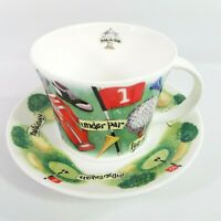 Roy Kirkham 2003 Fine Bone China Collectible Cup Saucer Hole In One Golf Mug