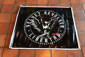 Velvet Revolver poster concert sign libertad music band banner live black 41