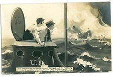 SINKING OF HMS HOGUE ETC - GERMAN PATRIOTIC CARD