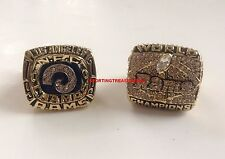 St. Louis Los Angeles Rams Super Bowl Championship Ring Set 2000 1979 US SELLER