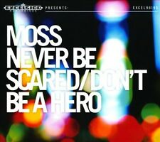 MOSS (NETHERLANDS) - NEVER BE SCARED/DON'T BE A HERO USED - VERY GOOD CD