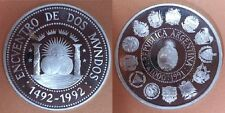 ARGENTINA 1991. 1000 Australes Encuentro Dos Mundos. 1ª SERIE IBEROAMERICANA.