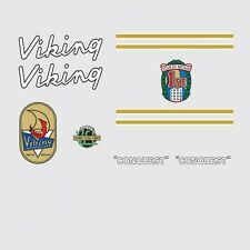 Viking Conquest Bicycle Frame Stickers, Decals, Transfers  n.6